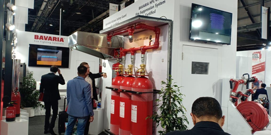 Bavaria At Intersec 2019 in Dubai, UAE
