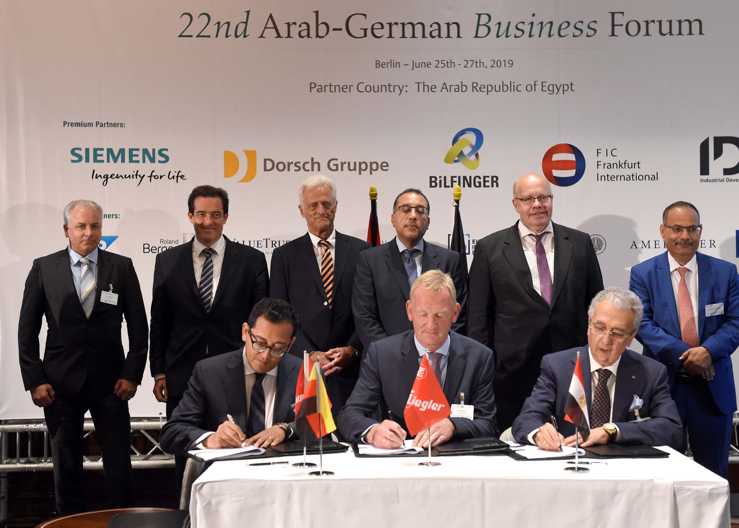 Bavaria Group signed in Berlin a joint venture agreement